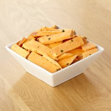 image 2 of Tesco Sweet Potato Chips With Herbs 450G