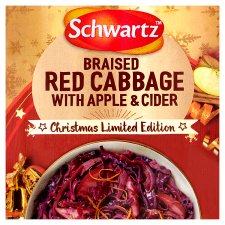 Schwartz Red Cabbage With Cider And Apple Limited Edition 30G