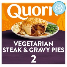 Quorn Steak Style And Gravy Pies 2 Pack 400G