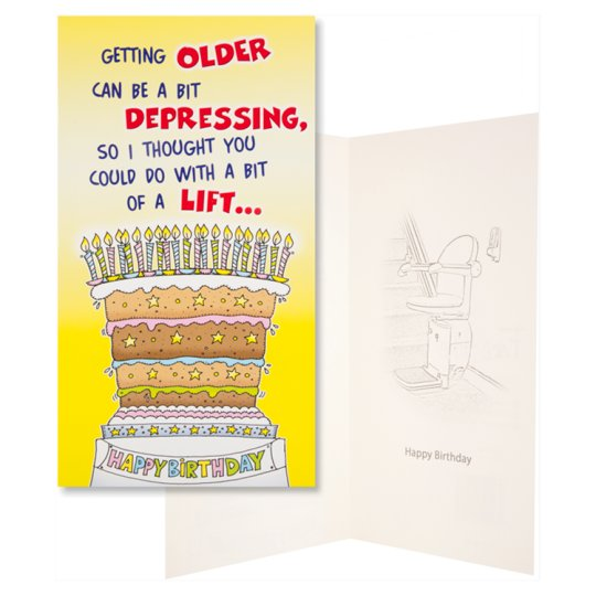 Emotional Rescue Birthday Card Humour