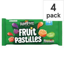 Rowntrees Fruit Pastilles 4X52g