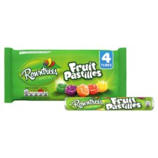 image 2 of Rowntrees Fruit Pastilles 4X52g
