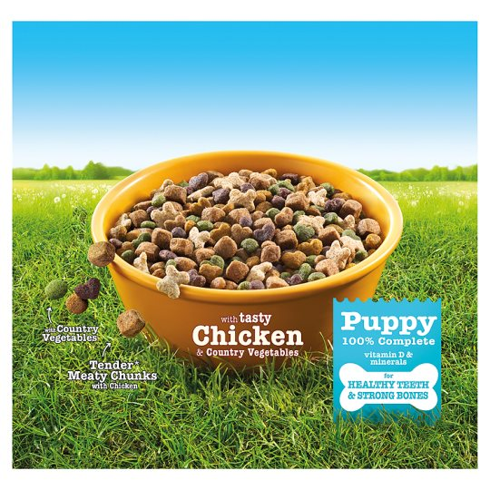 Bakers Complete Puppy Chicken And Vegetable 2.7Kg