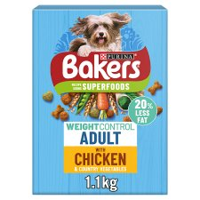 image 1 of Bakers Weight Control Dog Food Chicken And Vegetable 1.1Kg