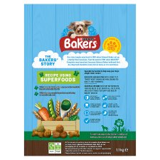 image 2 of Bakers Weight Control Dog Food Chicken And Vegetable 1.1Kg