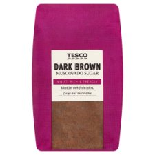 Tesco Dark Muscovado Sugar 1Kg Bag