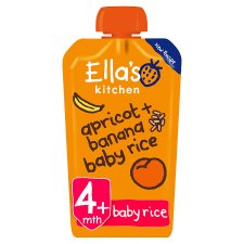 Ella's Kitchen Banana & Apricot Baby Rice 120G