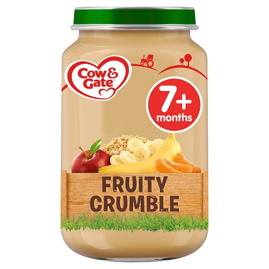 Cow And Gate Fruity Crumble Jar 200G 7 Mth+