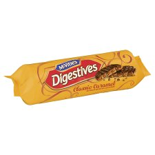 Mcvities Milk Chocolate Caramel Digestive Biscuits 267G