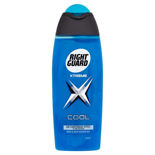 Right Guard Xtreme Shower Gel Cool Impact 250Ml