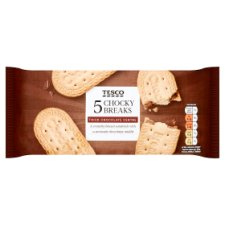 Tesco Chocky Break 5 Pack 140G