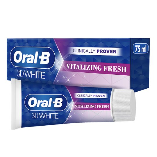 Oral-B 3D White Vitalizing Fresh Toothpaste 75Ml