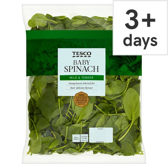 image 1 of Tesco Spinach 500G