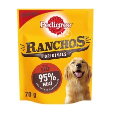 Pedigree Ranchos Beef Dog Treats 70G
