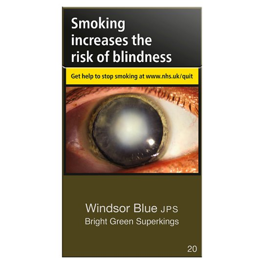 Windsor Blue Jps Superkings Green 20 Pack