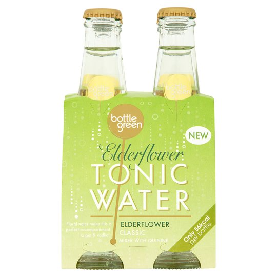 Bottlegreen Elder Tonic 4 X 175Ml