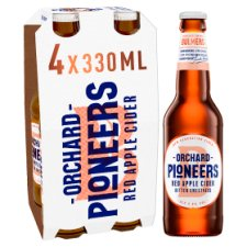 Orchard Pioneers Red Apple Cider 4X330ml