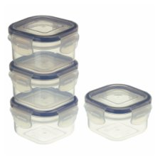 Tesco Klipfresh Foodsavers 4 Pack 140Ml