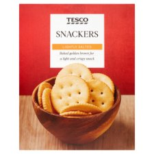 Tesco Snackers Crackers 200G