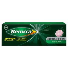 Berocca Boost Effervescent Vitamin Energy Tablets 10S