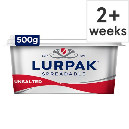 Lurpak Unsalted Spreadable 500G