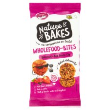 Nature Bakes Wholefood Bites Red Berries 150G