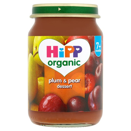 Hipp Organic Plum And Pear Pudding 160G