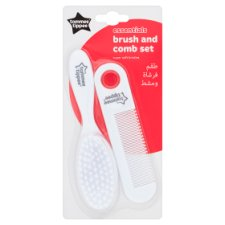Tommee Tippee Essentials Brush And Comb Set