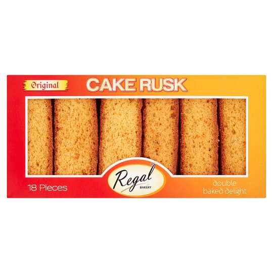 Regal Original Cake Rusks 18 Pieces