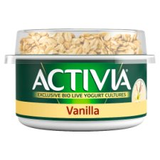 Activia Breakfast Topper Vanilla Yogurt 160G