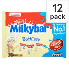 image 1 of Milkybar Buttons Minis 12 Pack 189G