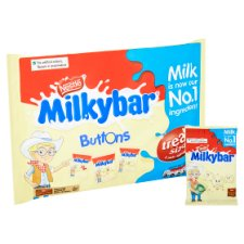 image 2 of Milkybar Buttons Minis 12 Pack 189G