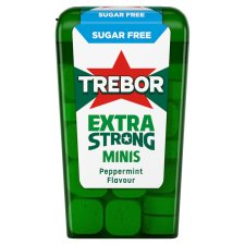 Trebor Mighties Sugar Free Mints 12.5G