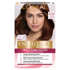 L'oreal Excellence Hair Colourant Dark Copper Mahogany