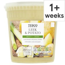 Tesco Leek And Potato Soup 600G