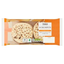 Tesco Crumpets 8 Pack