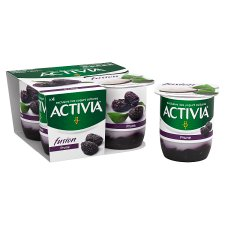 image 2 of Activia Fusion Prune Yogurt 4 X125g