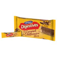 image 2 of Mcvities Digestive Caramel Slice 5 Pack 124.4G