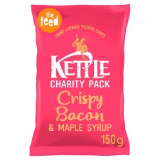 Kettle Chips Crispy Bacon Crisps 150 G