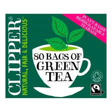 Clipper Organic Fairtrade Green Tea 80S