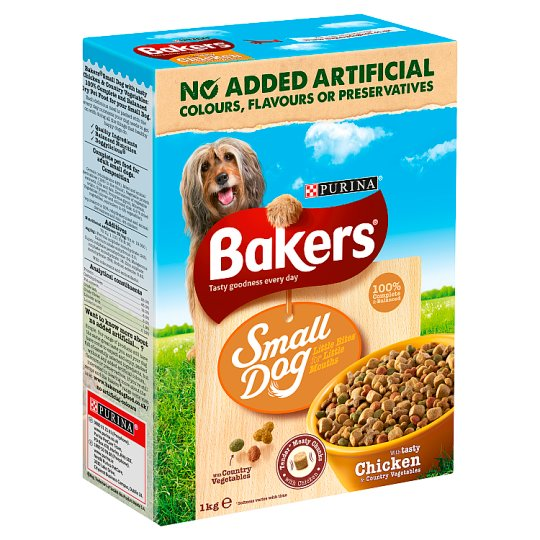 Bakers Complete Small Dog Chicken And Vegetable 1Kg