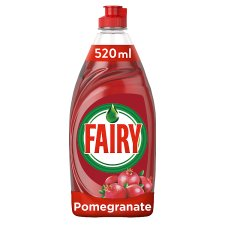 Fairy Pomegranate And Honey Suckle Washing Up Liquid 520Ml
