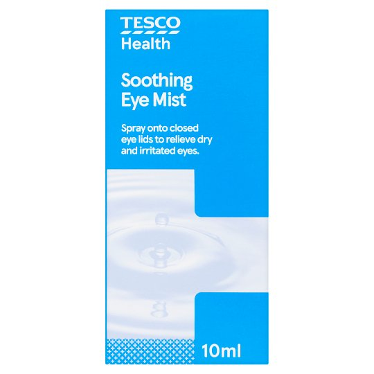 Tesco Soothing Eye Mist Spray 10 Ml
