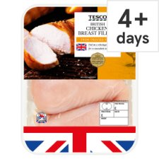 Tesco Chicken Breast Portions 580G