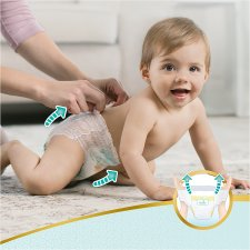 image 3 of Pampers Premium Protection Pants Size 4 34 Nappies Essential Pack