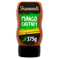 Sharwood Green Label Squeezy Mango Chutney 375G