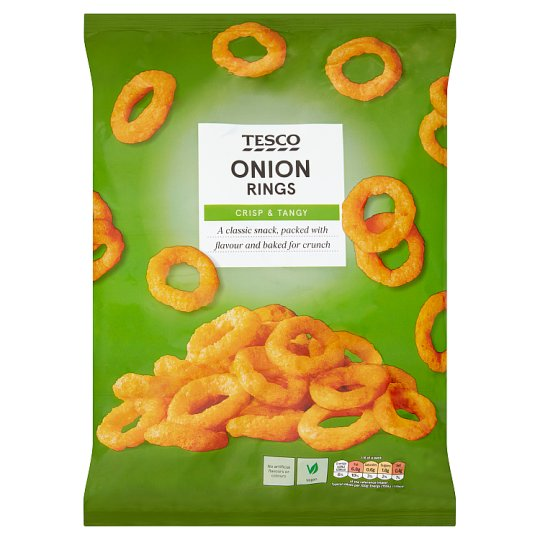 Tesco Onion Ring Snacks 150 G