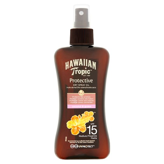 Hawiian Tropic Protective Oil Spf 15 200Ml