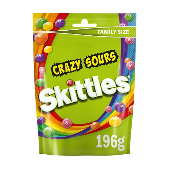Skittles Sours Pouch 196G