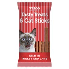 Tesco Turkey And Lamb Cat Stick Treats 30G